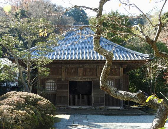 海蔵寺仏殿(薬師堂)