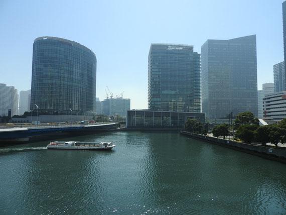 ベイクォーターから、Fujizerox R&Dスクエア、日産グローバル本社、横浜三井ビルディング