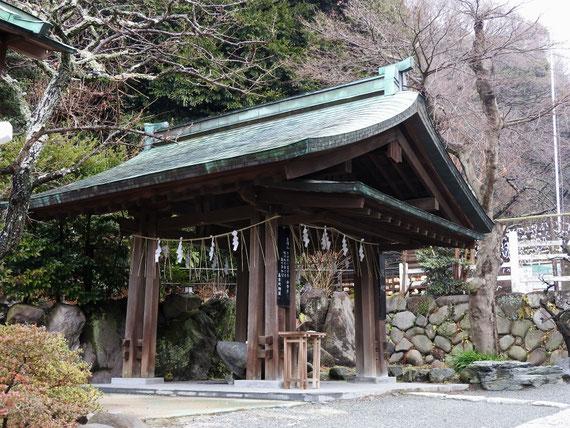 鎌倉宮 手水舎