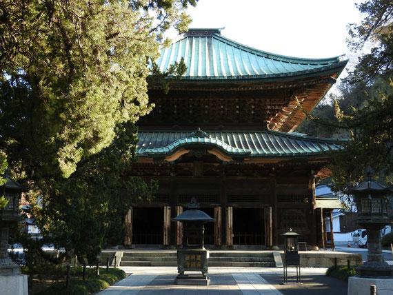 建長寺仏殿 12月