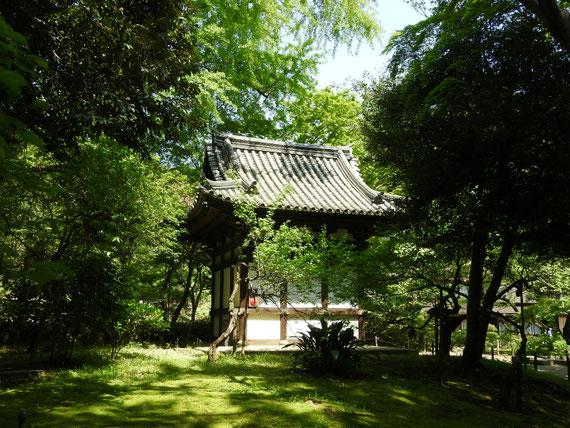 旧天瑞寺寿塔覇堂 左