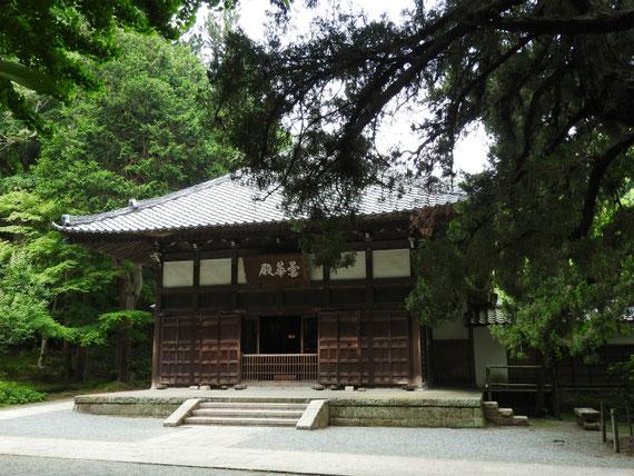 浄智寺本堂(曇華殿) 5月