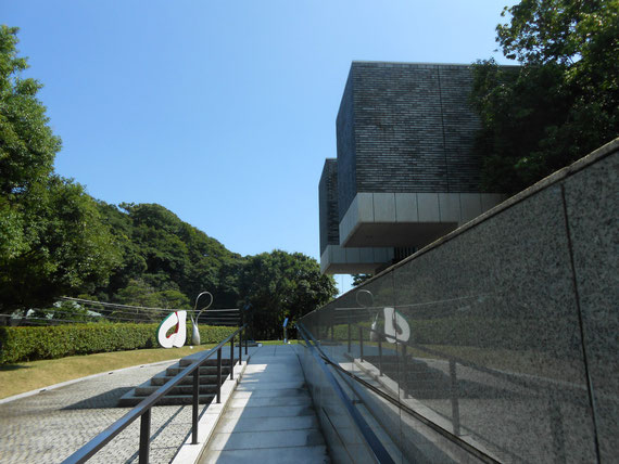 8月の猛暑、鎌倉別館