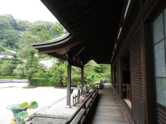 龍王殿方丈の回廊