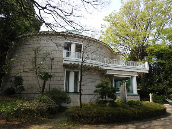 神奈川近代文学館、展示棟