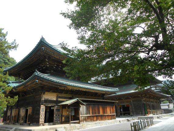 建長寺 仏殿、法堂