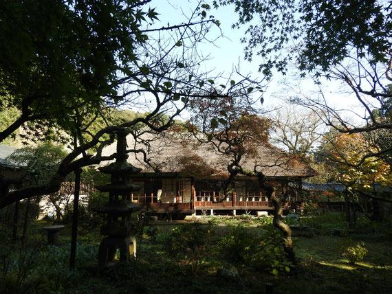 浄智寺方丈客殿 11月