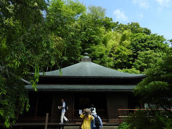 東慶寺 本堂(泰平殿)のお参り