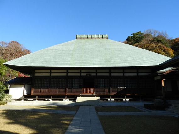 浄妙寺本堂(方丈) 12月