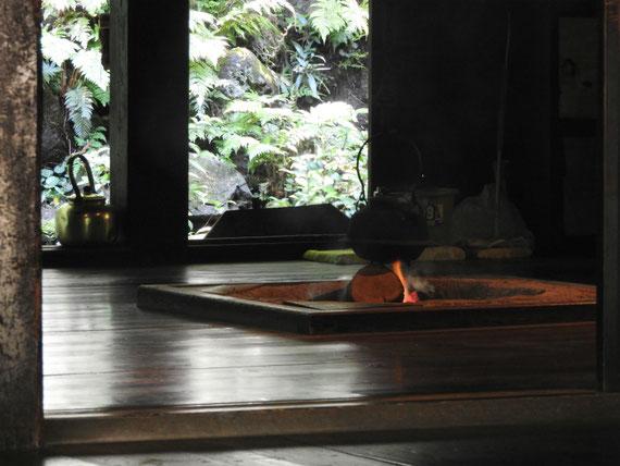 旧矢箆原家住宅 囲炉裏