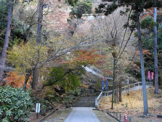 半僧坊への階段