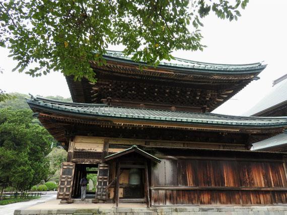 建長寺仏殿 9月