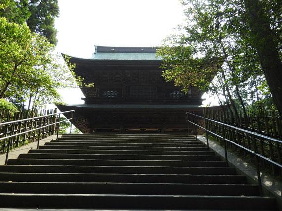 円覚寺山門 6月
