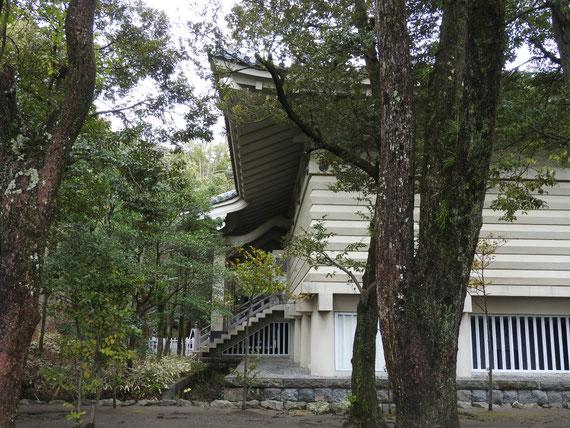 鎌倉国宝館側面