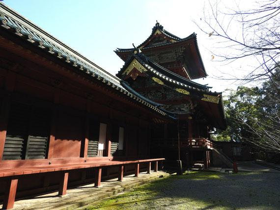 浅間神社回廊・大拝殿