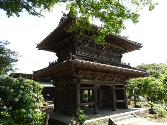 英勝寺 総門