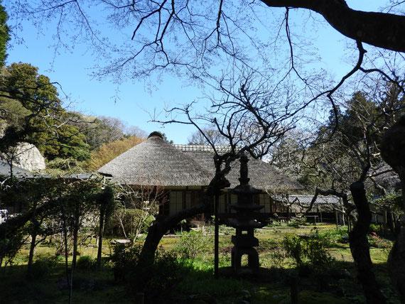 浄智寺 方丈・客殿と前庭