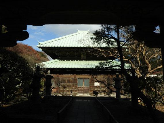 英勝寺仏殿 12月