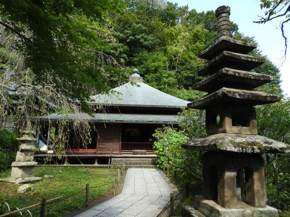 東慶寺本堂(泰平殿) 9月