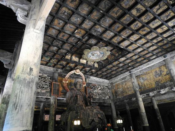 建長寺仏殿地蔵菩薩坐像 9月
