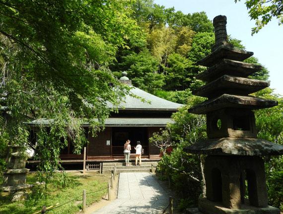 東慶寺本堂(泰平殿) 6月