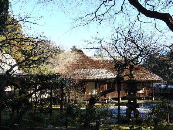 方丈・客殿(書院)の中庭