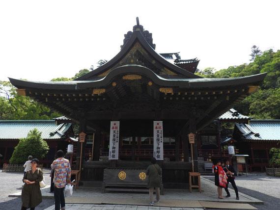 静岡浅間神社舞殿 5月