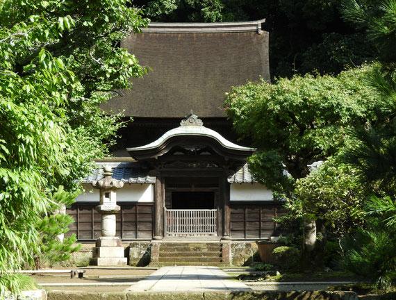 円覚寺舎利殿 9月