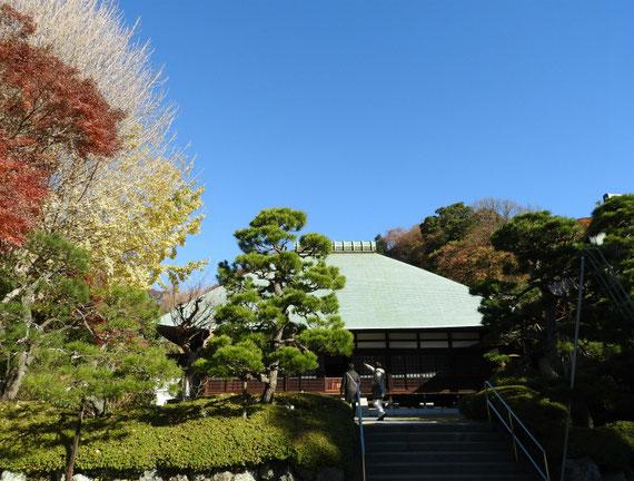 鎌倉 浄妙寺本堂