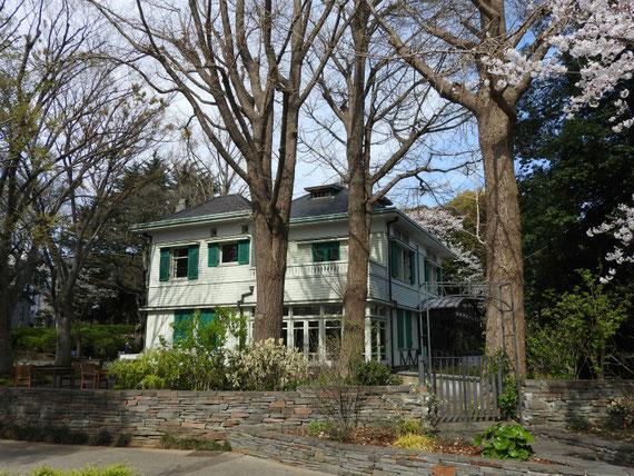エリスマン邸右側面のデザイン