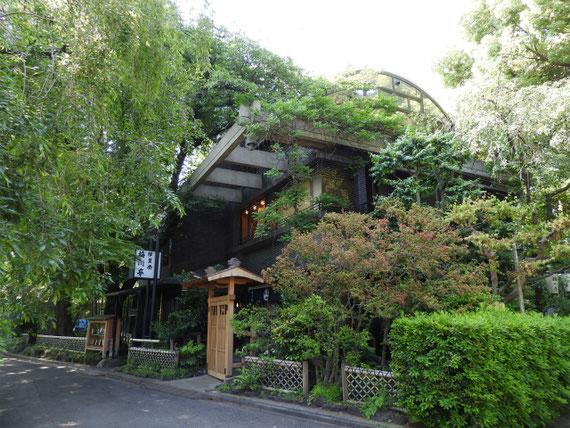 辯天堂近くにある、お茶屋の亭