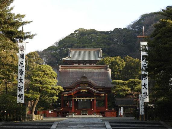 鶴岡八幡宮舞殿 1月