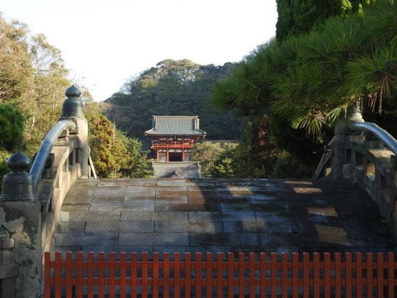 鶴岡八幡宮、太鼓橋