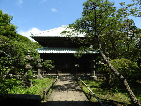 鎌倉 英勝寺仏殿