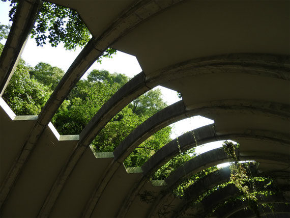 巨福呂坂洞門の天井