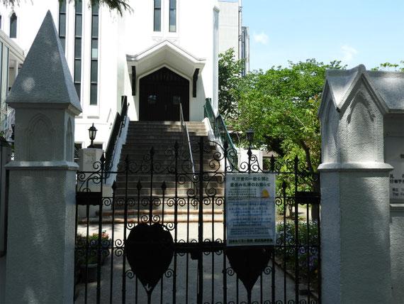 教会の正門