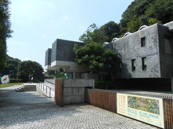 近代美術館別館入り口