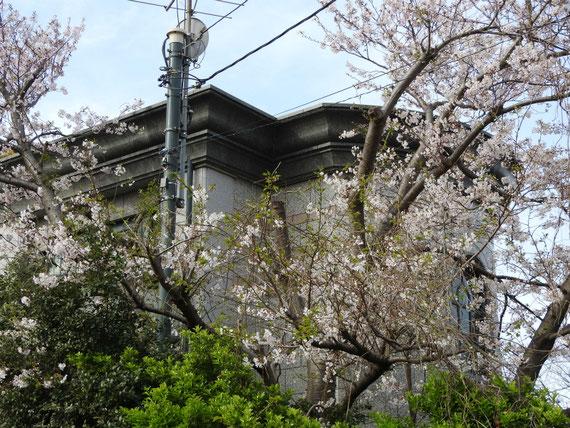 横浜外国人墓地資料館、表面