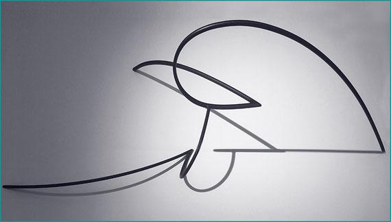 Andreu Alfaro, Figura aixecant-se [Figura incorporándose (b)], 1984
