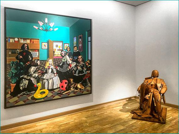 Equipo Crónica, La salida 1970. Manuel Valdés, Matisse como pretexto, 1988