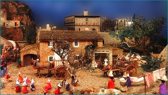Belen en el Ayuntamiento de Palma