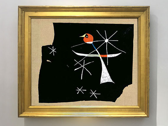 Juan Miró, Le perroquet [El loro], 1937