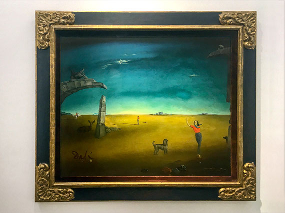 Salvador Dalí, Sin título (Retrato de Luli Kollsman), 1946