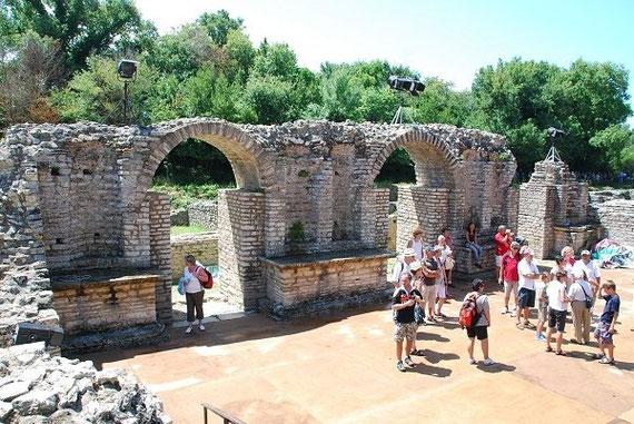 Rund u. Studienreise. UNESCO-Weltkulturerbe Butrint.