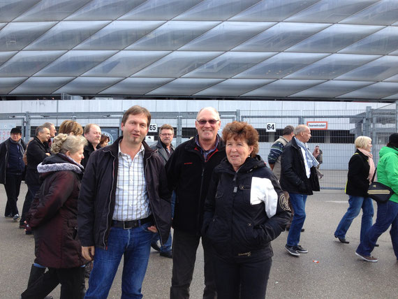 Club 90 Ausflug in die Allianz Arena München