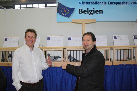 Dortmund Jänner 2014, Europaschau mit Benny Steveninck und Bennys AS Taube