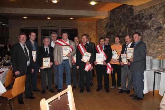 Siegerehrung zum 1. NATIONALMEISTER 2014 in Kapfenberg Dezember 2014
