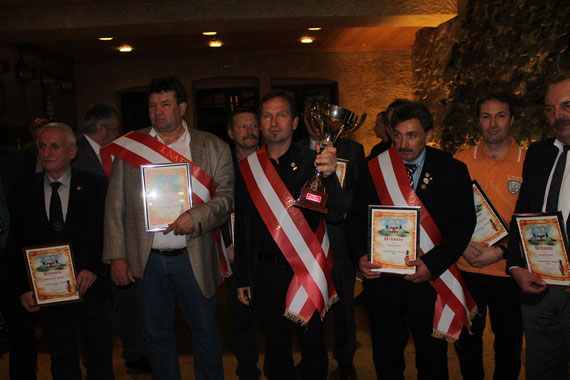 1. Nationalmeister SIEGEREHRUNG DER NATIONALMEISTER 2014 in Kapfenberg