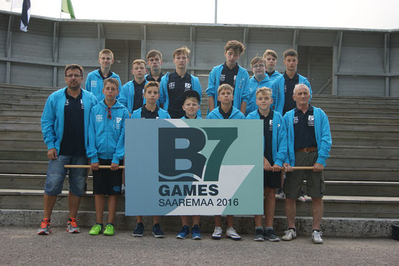 C-Junioren bei den B7-Games in Estland