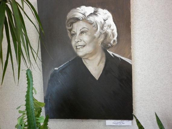Портрет Г.Р. Тор, художник Р.Х. Халиуллин